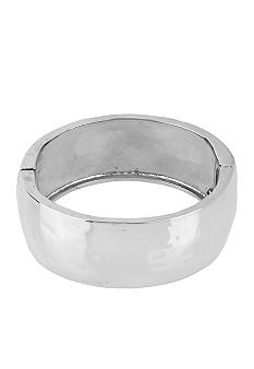 Robert Lee Morris Hammered Hinged Bangle Bracelet