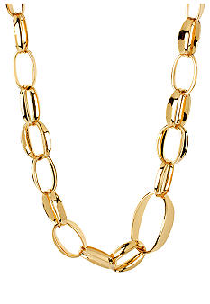 Robert Lee Morris Oval Link Necklace