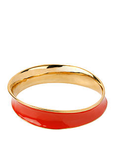 Robert Lee Morris Coral Sculptural Bangle Bracelet