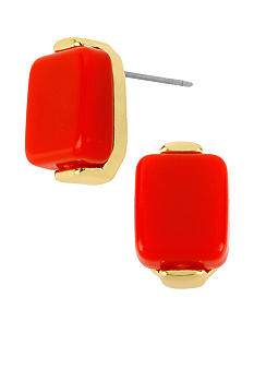 Robert Lee Morris Coral Stud Earring
