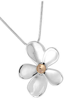 Robert Lee Morris Flower Pendant Necklace