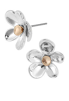 Robert Lee Morris Flower Stud Earring