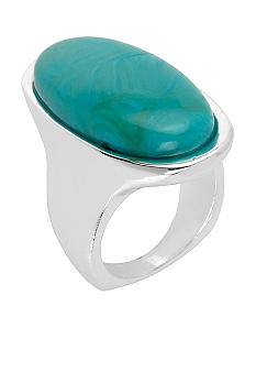 Robert Lee Morris Turquoise Oval Ring