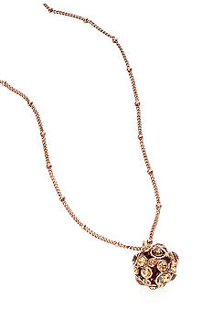 Nine West Vintage America Collection Fireball Pendant Necklace