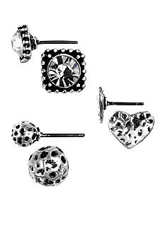 Nine West Vintage America Collection Stud Earring Set