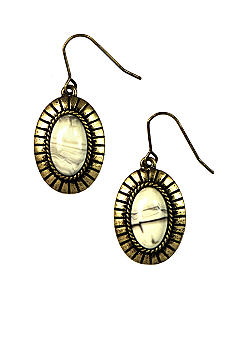 Nine West Vintage America Collection Stone Drop Earring