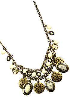 Nine West Vintage America Collection Shaky Frontal Necklace