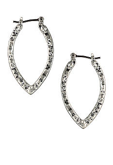 Nine West Vintage America Collection Click It Hoop Earrings