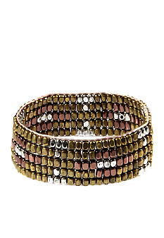 Nine West Vintage America Collection Beaded Stretch Bracelet