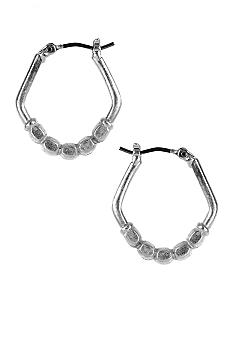 Nine West Vintage America Collection Hoop Earrings