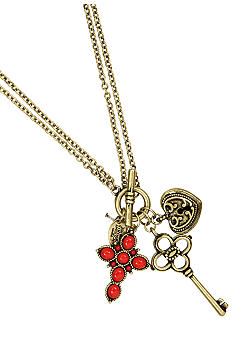Nine West Vintage America Collection Charm Pendant Necklace