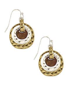 Nine West Vintage America Collection Orbital Drop Earrings