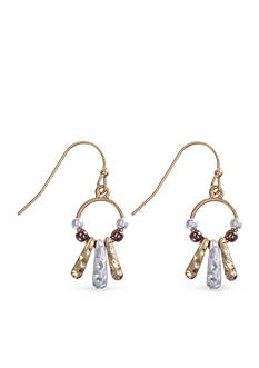Nine West Vintage America Collection Orbital Shaky Drop Earrings
