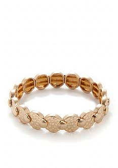Nine West Vintage America Collection Gold-Tone Stretch Bracelet