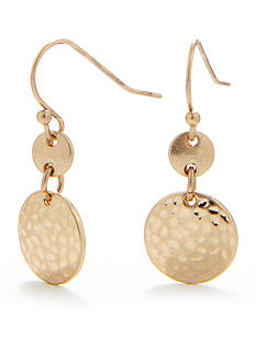 Nine West Vintage America Collection Gold-Tone Drop Earring