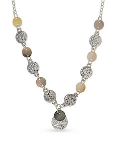 Nine West Vintage America Collection Tri-Tone North Shore Y-Neck Necklace