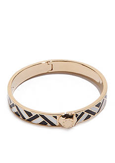 Trina Turk Gold-Tone Enamel Bangle