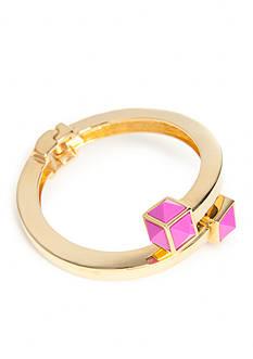 Trina Turk Pyramid Stone Flex Dark Pink Bracelet