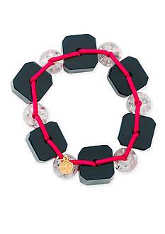 Trina Turk Going Geo Large Bead Bracelet