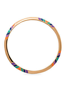 Trina Turk Gold-Tone Free Spirit Bangle Bracelet
