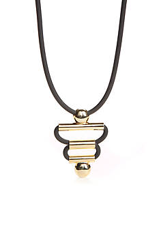 Trina Turk Sculptural Frontal Necklace