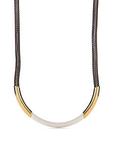 Trina Turk Gold-Tone Modernity Mesh Collar Necklace