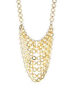 Trina Turk Gold-Tone Free Spirit Statement Necklace