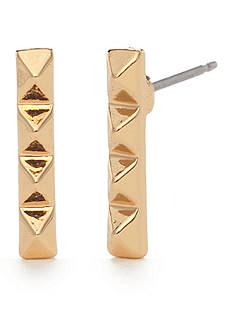 Trina Turk Pyramid Stick Stud Earrings