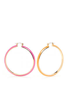 Trina Turk Mod Moments Large Hoop Earrings