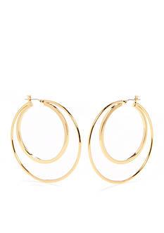Trina Turk Raver Double Wire Hoop Earrings