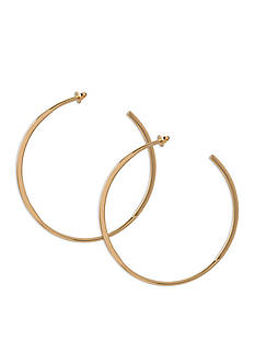 Trina Turk Modernity Gold-Tone C Hoop Earrings
