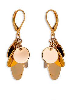 Trina Turk Gold-Tone Free Spirit Drop Earrings