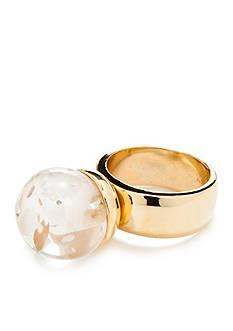Trina Turk Lucite Ball Ring