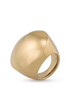 Trina Turk Gold-Tone Dome Statement Ring