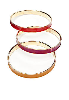 New Directions Warm Tonal Set of Three Bangles