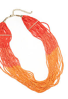 New Directions Ombre Seed Bead Necklace