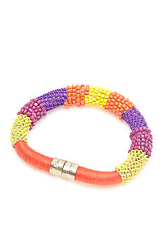 New Directions Magnetic Seed Bead Bracelet