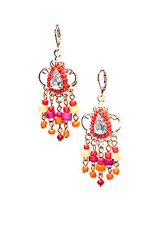 New Directions Seed Bead Chandelier Earrings