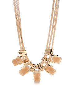 New Directions Gold-Tone Natural Beauty Collar Necklace