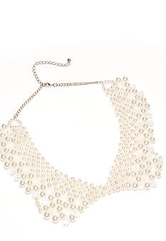 New Directions Pearl Collar Necklace
