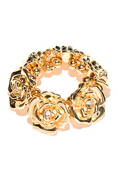 New Directions Flower Stretch Bracelet