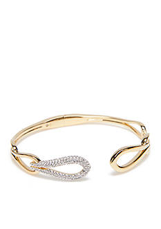 Nadri Gold-Tone Abby Bangle Bracelet