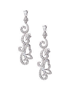 Nadri Butterfly Statement Earrings