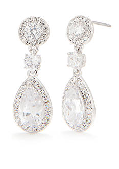 Nadri Crystal Drop Earring