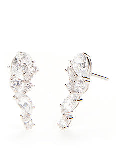 Nadri Cubic Zirconia East-West Stud Earrings
