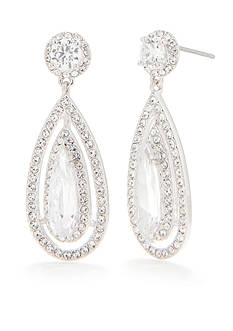 Nadri Tear Drop Earring