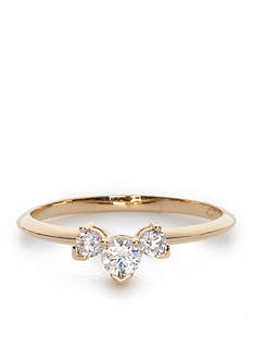 Nadri Gold-Plated Small Cubic Zirconia Ring