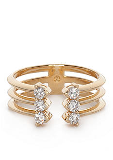 Nadri Open Cubic Zirconia Ring