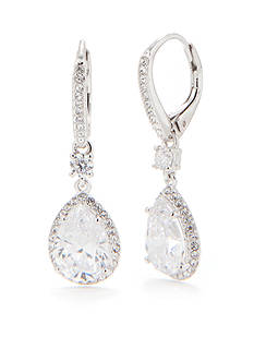 Nadri Pear Shaped Drop Earring