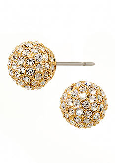 Nadri Pave Ball Earrings